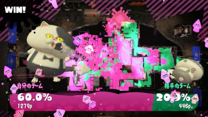 相比地不斷的狩獵玩家,最重要是把油漆填滿版圖,否則勝得一時的快感輸掉整個比賽。