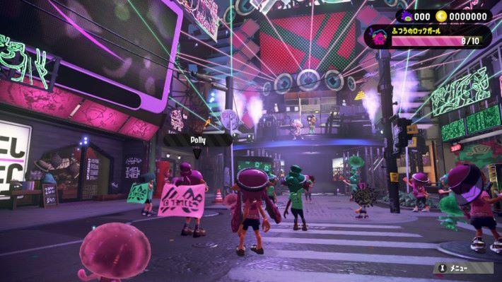 「前夜祭」正式開始!商店街立即化作舞台,充滿慶典的歡樂氣氛!