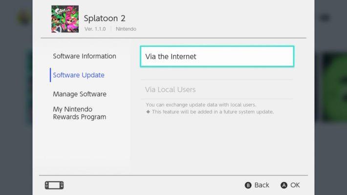 進行遊戲之前,不妨先進行軟件更新,否則可能會無法使用連線功能,無法進行網上對戰。