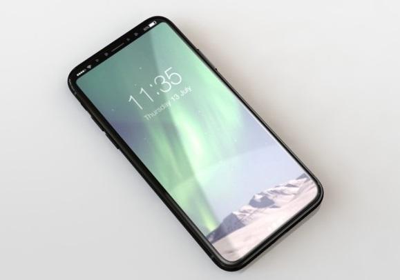 幅布斯刊登相信是 iPhone 8 的樣辦機。