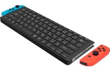 Joy-Con合體 Switch 遊戲鍵盤