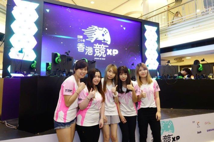女子隊TDF亦會參賽