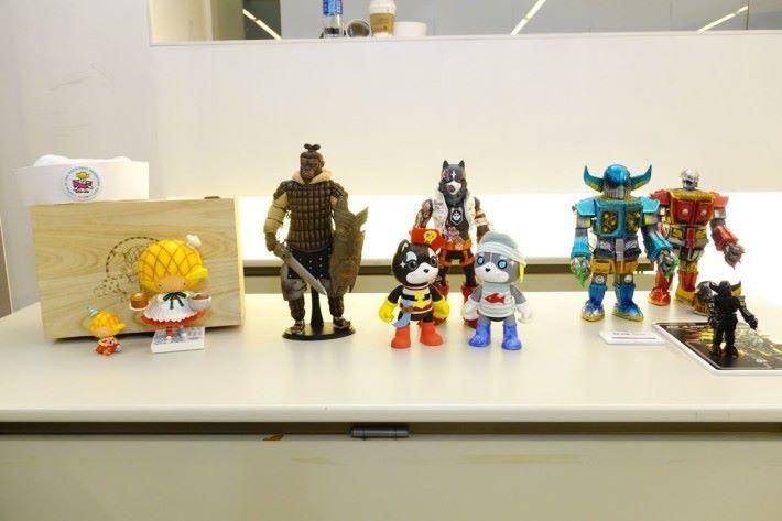 香港玩具設計師與大家分享