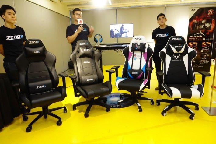 Zenox 的電競座椅