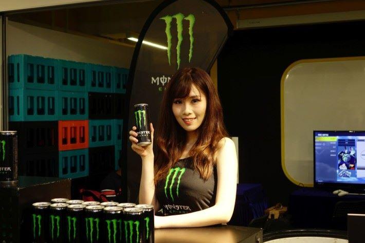 現場亦有 Monster 飲品供大家試飲