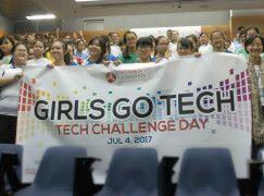 百多名初中女生 齊體驗日常科技應用