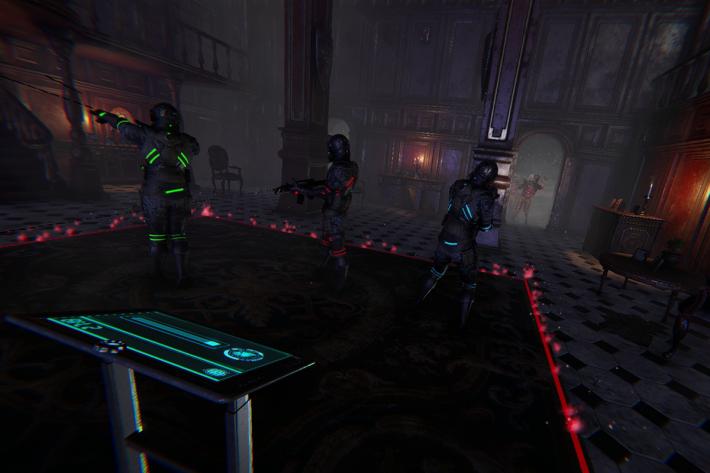 整個遊戲歷時30分鐘,戴上 VR 裝置後,真的令人感覺置身於四周有威脅的廢宅之內,前後左右隨時都有喪屍埋身攻擊你,極之刺激。