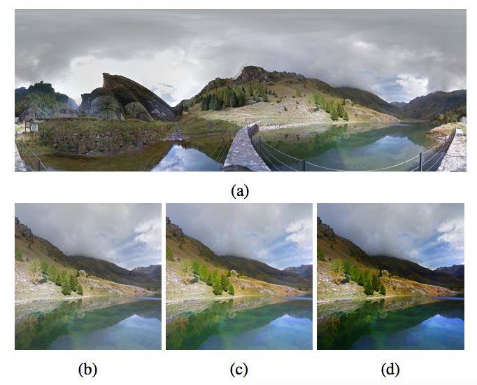 AI 從相片的構圖、HDR 細節及飽和度等進行分析,再進行合成及調整。