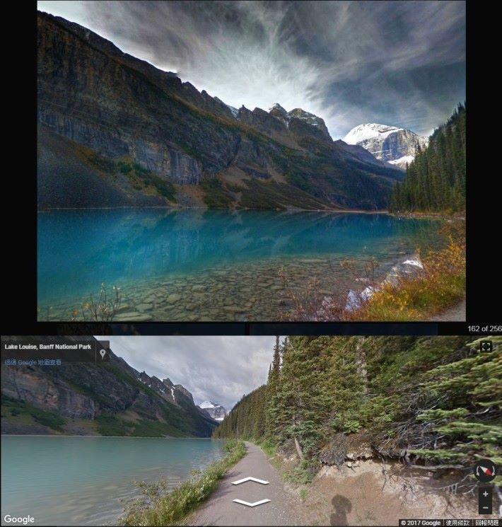Google AI 造出的相片中,也有些後製得有點過分的。