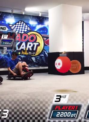 VR out 啦!飛去日本玩 AR 碰碰車