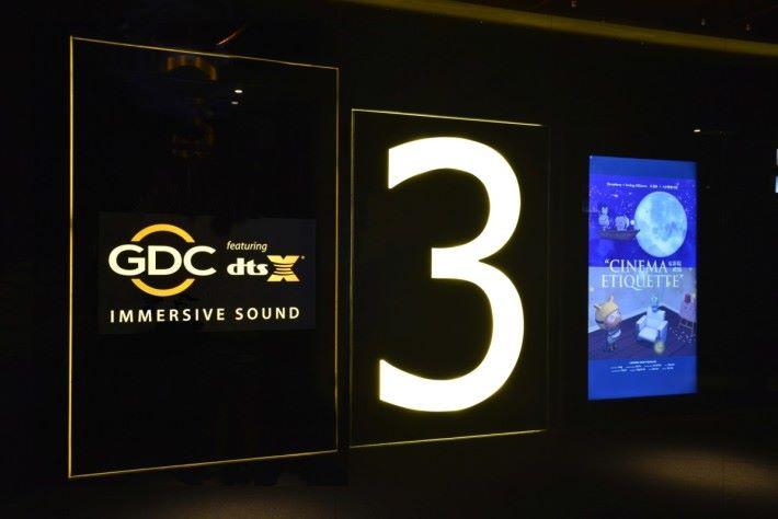 3號院特別裝設 DTS: X 音效系統。