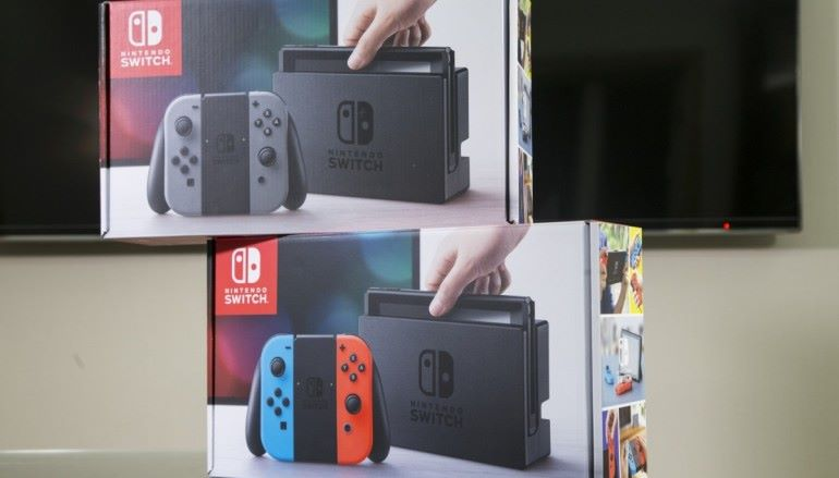 日本網購 Switch 結果得個盒 ??
