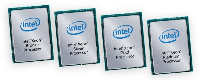 Intel 在全新 Xeon Processor Scalable Family 一口氣推出 51 個型號。