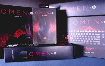 紅黑紅紅黑 OMEN by hp 電競配件系列