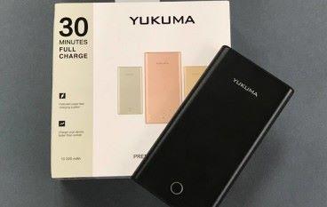 30分鐘極速度充電  YUKUMA Premium Power Bank