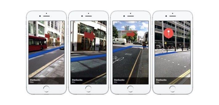 iOS 的 AR 應用 - 實況導航