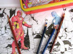 粉絲們的填色繪本 Marvel : Color You Own