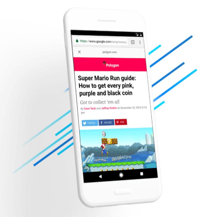 不少媒體因應 Google AMP 的格式發佈新聞,令文章在搜索引擎的排行位置更高。