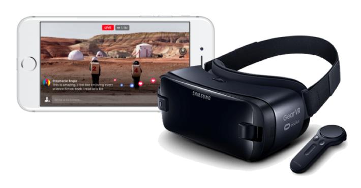 用家可以透過手機配合 VR 裝置觀看,但當然不會有 4K 畫質。