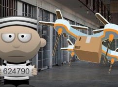 真人版「逃」!! 囚犯利用無人機越獄成功!!
