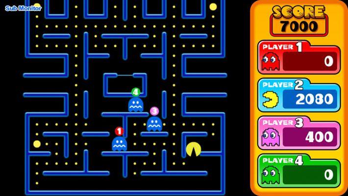 支援網絡對戰的 《Pac-Man vs》
