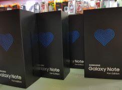 【登機無誤?】粉絲版 Galaxy Note FE 到港啦!