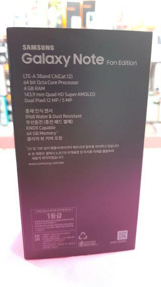 韓版使用 Exynos 8890 處理器,並內置 Bixby 智能助理。