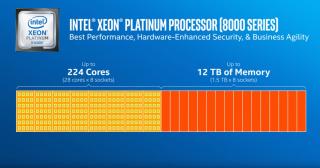極高效能的 Xeon Platinum 系列。