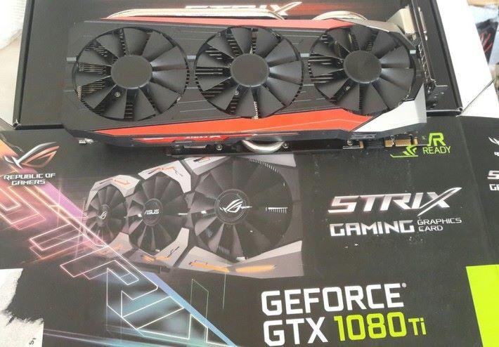 購買 GTX1080Ti 卻變成上一代 GTX980Ti。