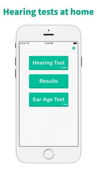 另一款聽力測試 apps 《 Hearing Test & Ear Age Test 》