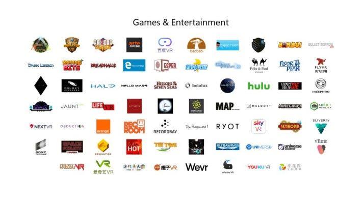 多間內容供應商都會推出對應 MR 平台的內容