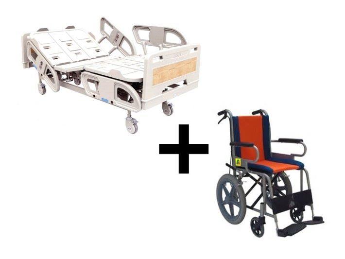 二合一的設計不單只是為了減少收納的空間,重要的是為了應付病人過床的實際需要。