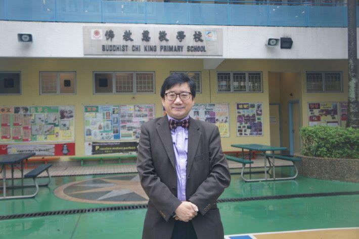 佛教慈敬學校校長莊聖謙表示香港教資源應分配平衡,才能有效推動多元人才發展。