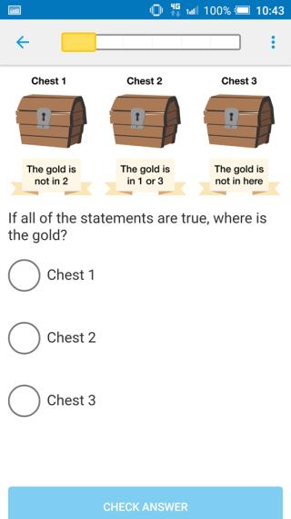 小測試以選擇題形式進行。
