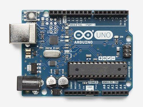 以 Arduino Uno 作數據處理及調控輸出。