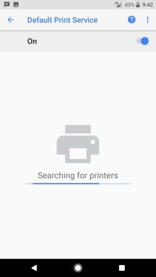 然後透過 Wi-Fi 自動搜尋網絡內的印表機