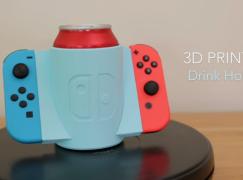 懶人必備!3D 打印 Switch Joycon 飲品手柄!