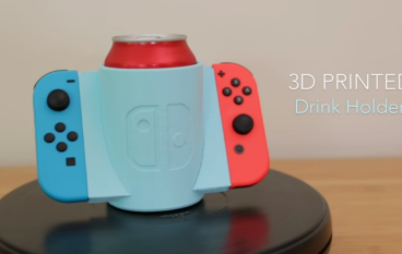 懶人必備!3D 打印 Switch Joycon 飲品手柄!