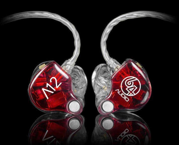 Audio 64 的 12 單元耳機 A12