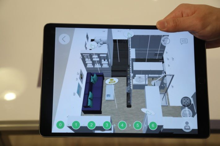 結合 AR 技術,讓顧客有不一樣的使用體驗。