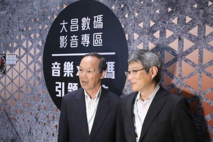 SAEC 主席 Keita Kitazawa 先生(左) 及海外事業部長 Junichi Tanaka 先生(右)