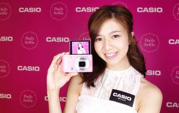 反芒超廣角 Casio ZR5100 影自拍有模糊效果