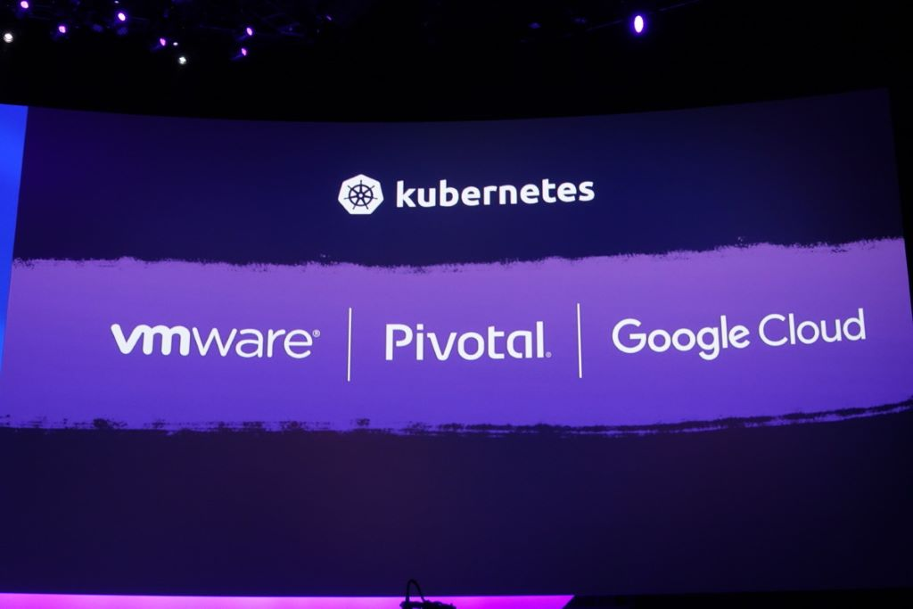 VMware PKS 的架構圖。