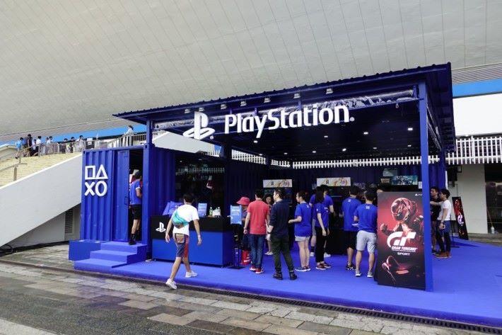 Sony PlayStation 攤位