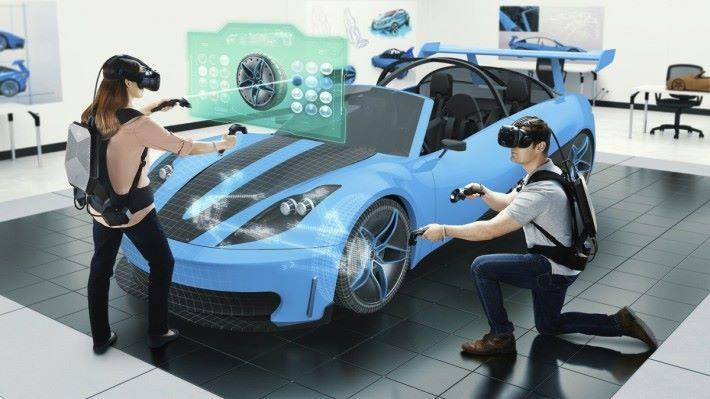 hp 將開設 13家體驗中心,讓客戶可以體驗不同的 VR 應用。