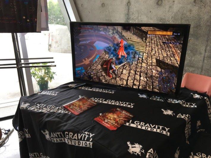 曾於今年復古遊戲展亮相的《Hell Warders》