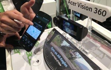 [IFA 2017] 最實用的 4K 行車記錄裝置 Acer Vision 360