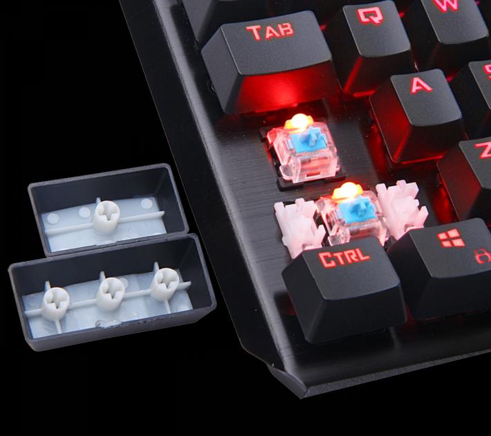 青色鍵軸,觸鍵感一流。