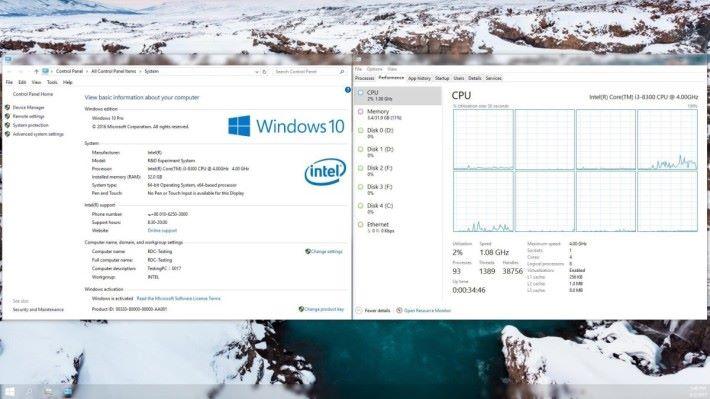 從百度洩密資料知道,i3-8300 將是 4C8T。(可按圖放大)