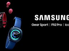 [IFA 2017] Samsung 穿戴裝置三連發:Gear Sport、Gear Fit2 Pro 及 IconX